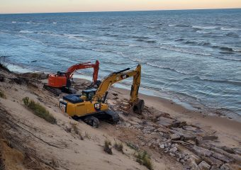 Lake Michigan Shore Repair